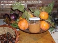Marmellata di cachi - pronta per essere abbinata ai deliziosi formaggi abruzzesi