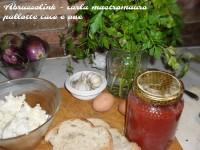Pallotte cace e ove - ingredienti.