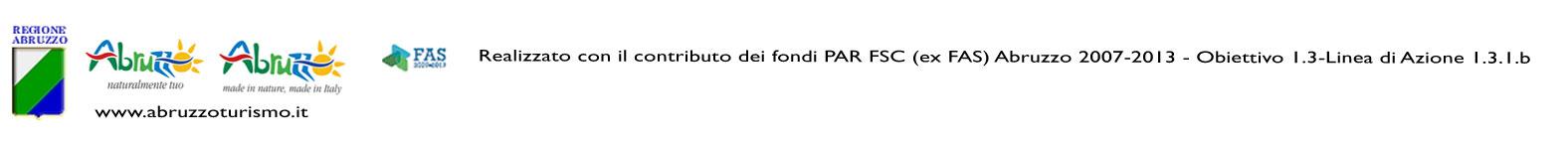 Realizzato con il contributo dei fondi PAR FSC (ex FAS) Abruzzo